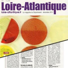 Magazine Loire-Atlantique n°109 décembre 2011