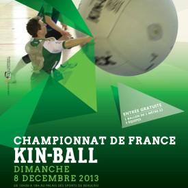 Affiche Championnat de France de Kin Ball 08/12/2013