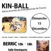 Affiche Championnat de France de Kin Ball 15/12/2013