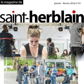 Le Magazine de St Herblain, n°10 janvier-février 2016