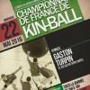 Affiche Championnat de France de Kin Ball 22/05/2016