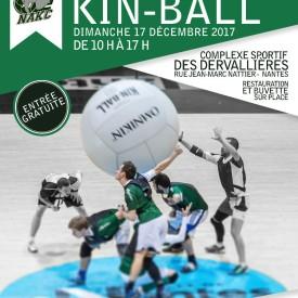 Affiche Championnat de France de Kin Ball 17/12/2017